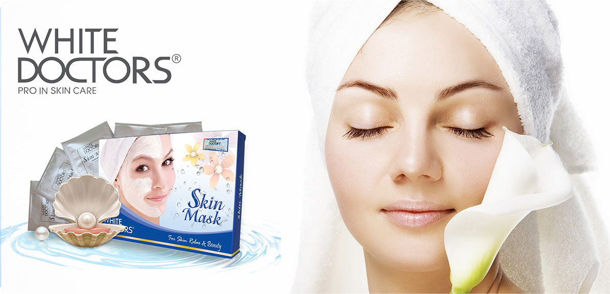 MẶT NẠ TẮM TRẮNG WHITE DOCTORS SKIN MASK