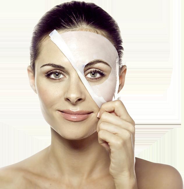 minh họa sử dụng mặt nạ trắng da white doctors skin mask