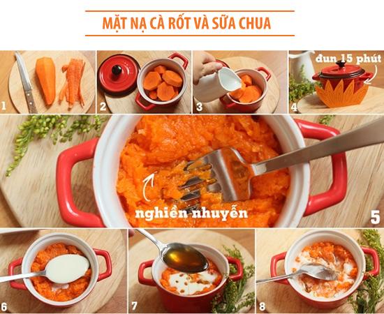 cà-rốt-sữa-chua