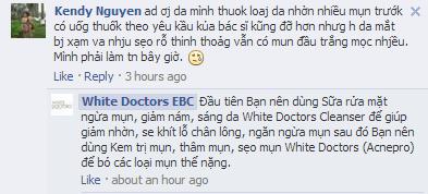 Hướng dẫn sử dụng White Doctors - Câu hỏi thường gặp