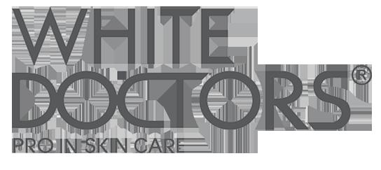 logo kem trị mụn white doctors