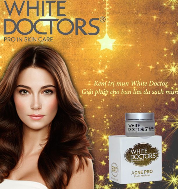 Kem trị mụn cám mụn đầu đen cao cấp hiệu quả nhất từ White Doctors